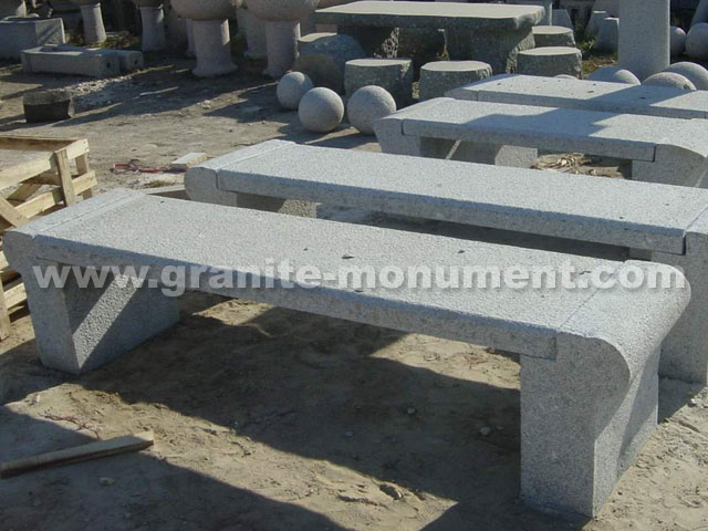 Black Granite Benches Stone Bench Granite Bench In Cemetery Yard